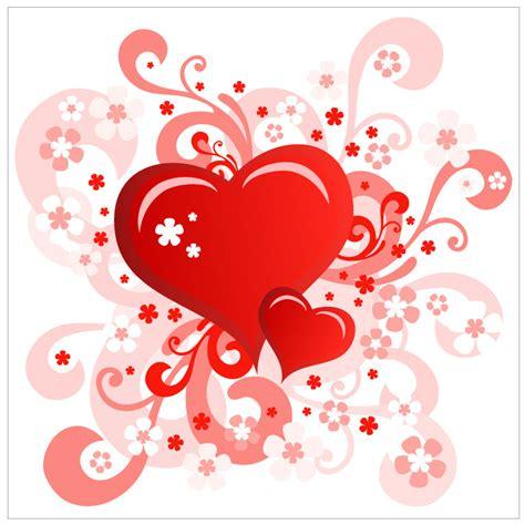 design bunga valentine 무료일러스트이미지 디자인소스 다운로드 무료 하트 이미지 소스
