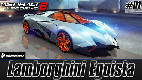 Asphalt 8 Lamborghini Egoista by Asphalt 8 Airborne Lamborghini Egoista This Is