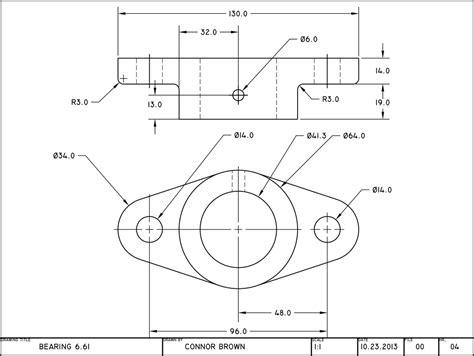 cad drawing bearings cad drawings