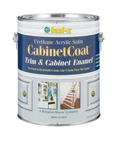 self leveling cabinet paint cabinetcoat 1 gal white trim and cabinet interior enamel