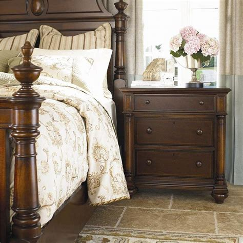 Thomasville White Bedroom Furniture by Thomasville Marble Top Nightstand Nightstand With