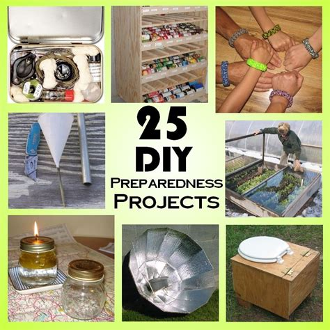 really cool diy projects 25 diy weekend preparedness projects survival project and survival