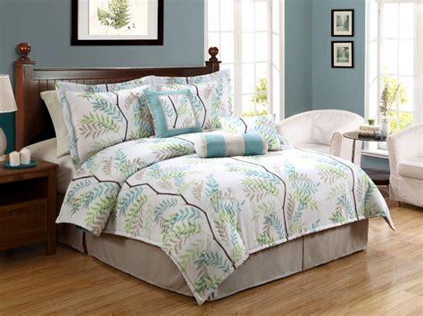 palm tree comforter set barbados green seashell 8 piece comforter set