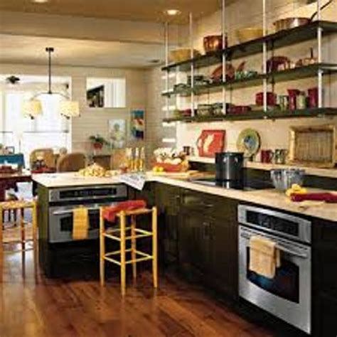 kitchen no cabinets how to organize a kitchen without cabinets 5 tips home