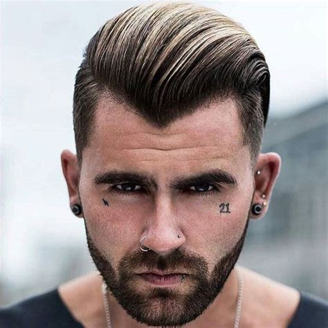 hairstyles for high peaks 17 best widow s peak hairstyles for men comb over there