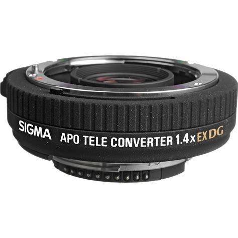 sigma apo teleconverter 1 4x ex dg sigma apo teleconverter 1 4x ex dg for nikon f 824306 b h