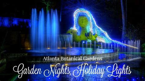 garden lights nights atlanta botanical garden atlanta botanical gardens lights brilliant