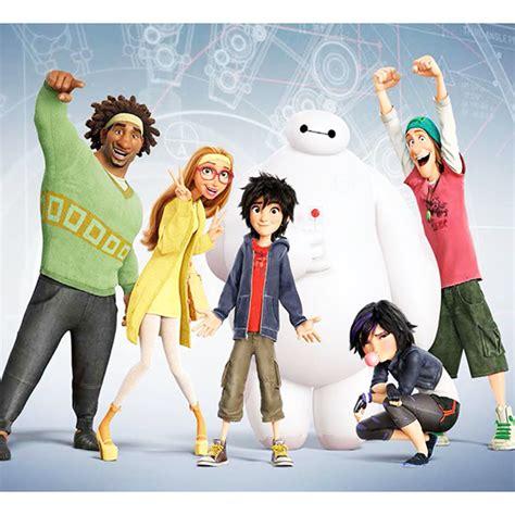 film disney les nouveaux heros personnages les nouveaux h 233 ros disney t 234 te 224 modeler