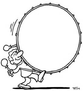 free coloring pages of bass drum