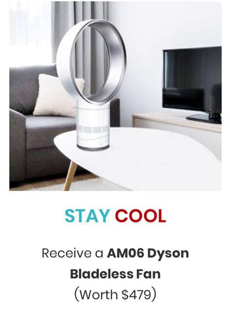 dyson fan promotion singapore welcome gifts aox singapore