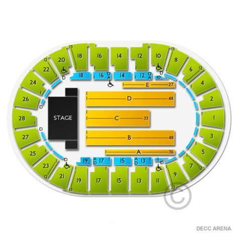 decc amsoil arena seating chart decc arena seating chart seats