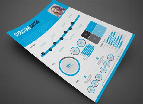 8 sets of free indesign cv resume templates free