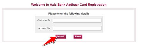 axis bank banking registration how to link aadhaar card with axis bank account 5 methods