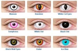 non prescription colored contacts non prescription colored contact lenses black out white