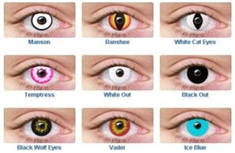where can i get non prescription colored contacts 17 best images about contacts on glow uv
