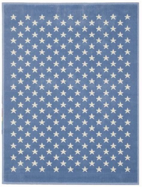 teppich rund hellblau kinderteppich hellblau sterne harzite