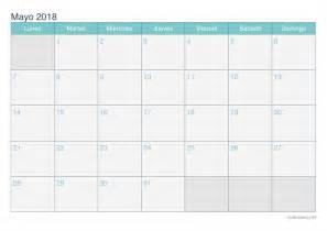 Calendario 2018 Imprimir Calendario Mayo 2018 Para Imprimir Icalendario Net
