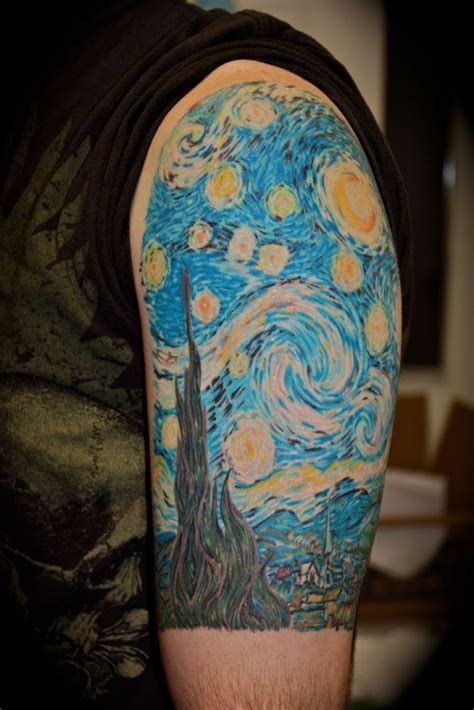 starry night tattoo 46 best images about starry on starry