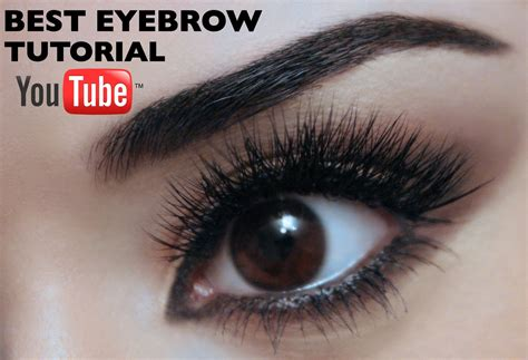 youtube tutorial eyebrow best eyebrow tutorial on youtube as voted by you youtube
