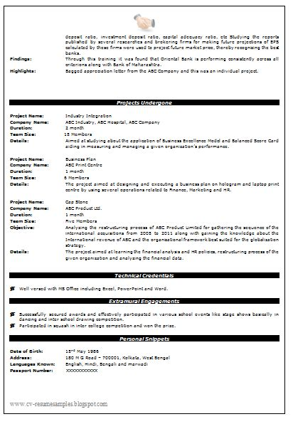 mba resume examples resume sample to get ideas how to make pretty