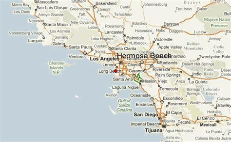 california map hermosa hermosa location guide