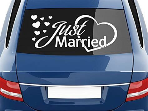 Just Married Herz F R Auto by 17 Best Ideas About Autoaufkleber Tuning On