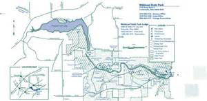 Mohican State Park Campground Map by Mohican State Park Maplets