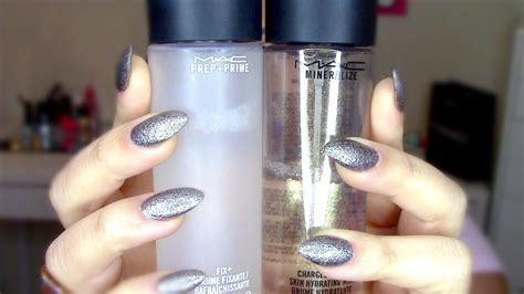 Mac Charged Water m a c fix vs m a c charged water rese 209 a
