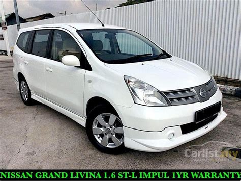 nissan grand livina by impul new cars user review and nissan grand livina 2010 impul 1 6 in selangor automatic