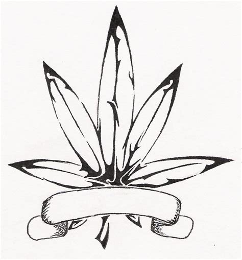 tribal pot leaf tattoo tribal pot leaf by apetheticalylost on deviantart