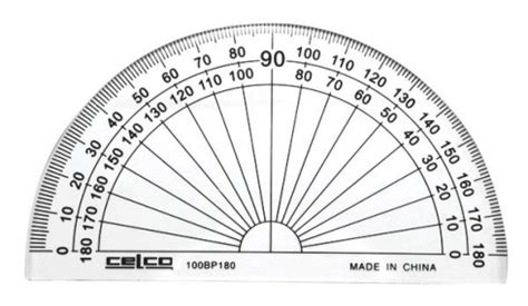 Penggaris Faber Castell 15 Cm protractor celco 10cm 180 degrees ziggies educational