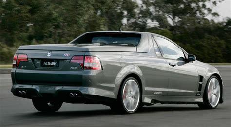 vauxhall vxr8 ute hsv maloo e3 ute 2011 review car magazine