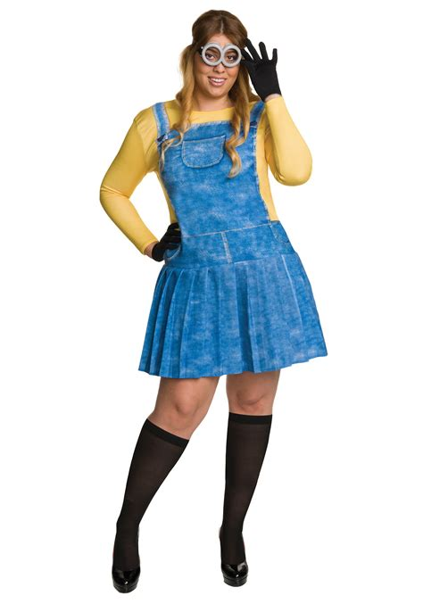 minion costumes plus size minion costume