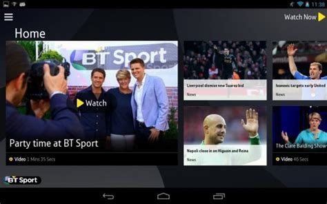 sports apps for android bt sport app for android and chromecast combination phonesreviews uk mobiles apps networks