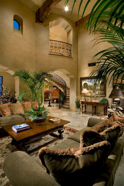 Mediterranean Style Living Rooms by Living Room Mediterranean Living Room By