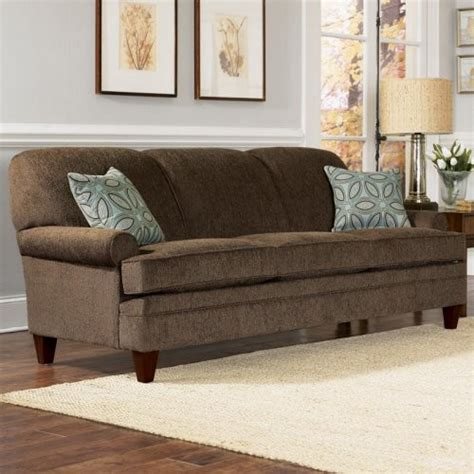 Charles Schneider Elma Brown Fabric Sofa With Accent Accent Pillows For Brown Sofa