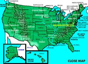 maps continental us map united states