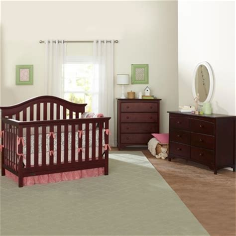Convertible Crib And Dresser Set by Graco Cribs 2 Nursery Set Bryson Convertible Crib