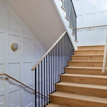 wainscotting stairs stairwell wainscoting design ideas