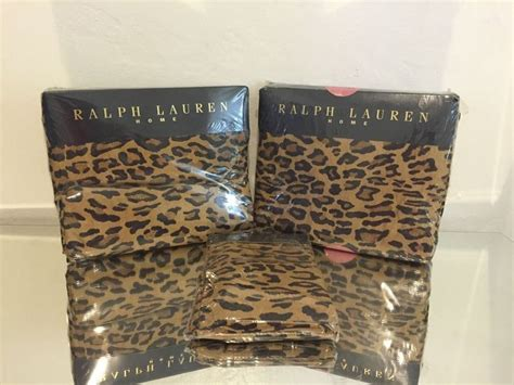 Ralph Leopard Sheets King 164 best images about vintage ralph bedding on