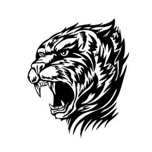 Stickers Tuning Voiture Tigre Tribal 183 184 184 France Stickers