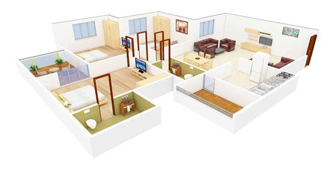 House Design Plan In 3d 3d Floor Plans Now Foresee Your Dream Home Netgains
