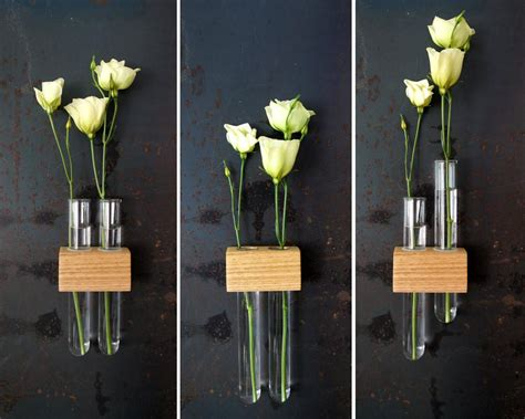 Test Planter by Magnetic Test Flower Bud Vase Moss Twig