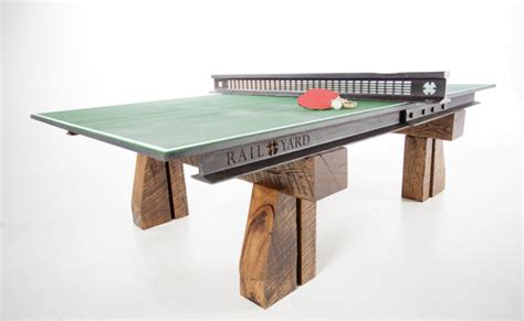 costo tavolo ping pong rotaie di una ferrovia vecchia 110 anni trasformate in