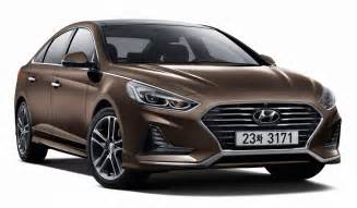 Hyundai Sontat 2018 Hyundai Sonata Unveiled With Sharp New Look Sporty