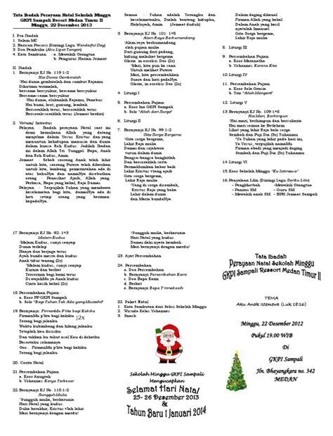 film natal untuk anak sekolah minggu tata ibadah perayaan natal sekolah minggu gkpi sali 2013