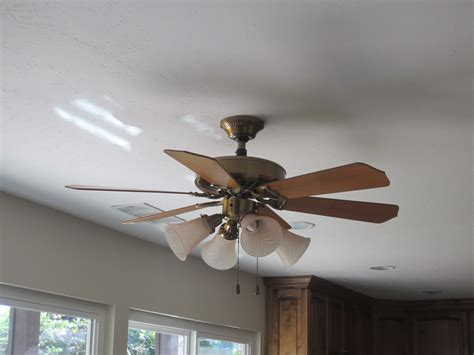Replace Recessed Light Fixture With Ceiling Fan