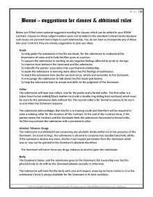 master contract template contract book