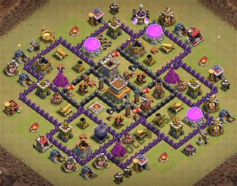 coc village layout level 8 top 43 best th8 base new war farming trophy