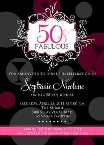 50th birthday invitations new invitations